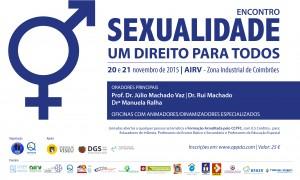 """Jornadas """"Sexualidade um direito para todos"""""""
